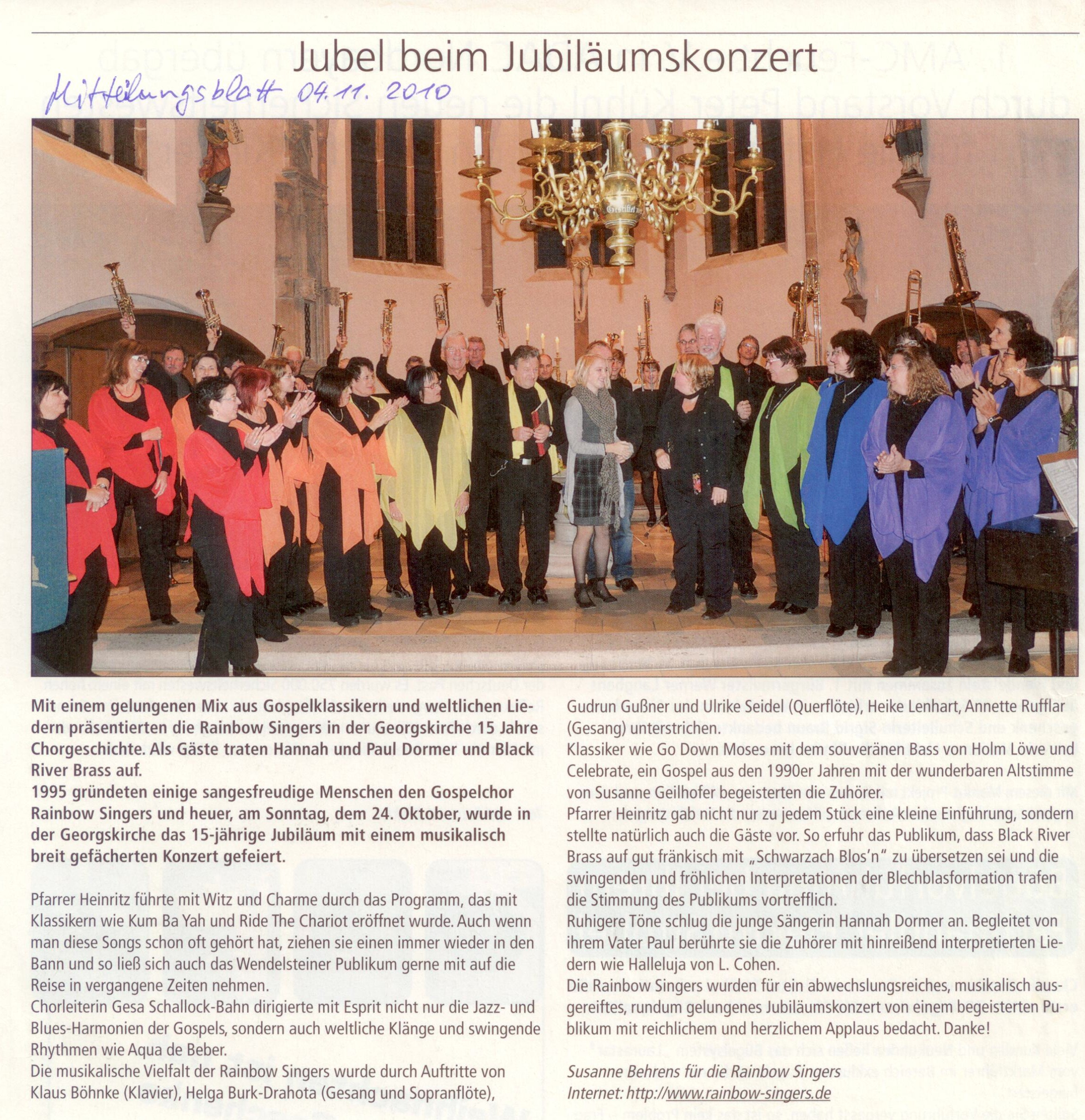 BRB RBS Bericht Konzert 10 2010