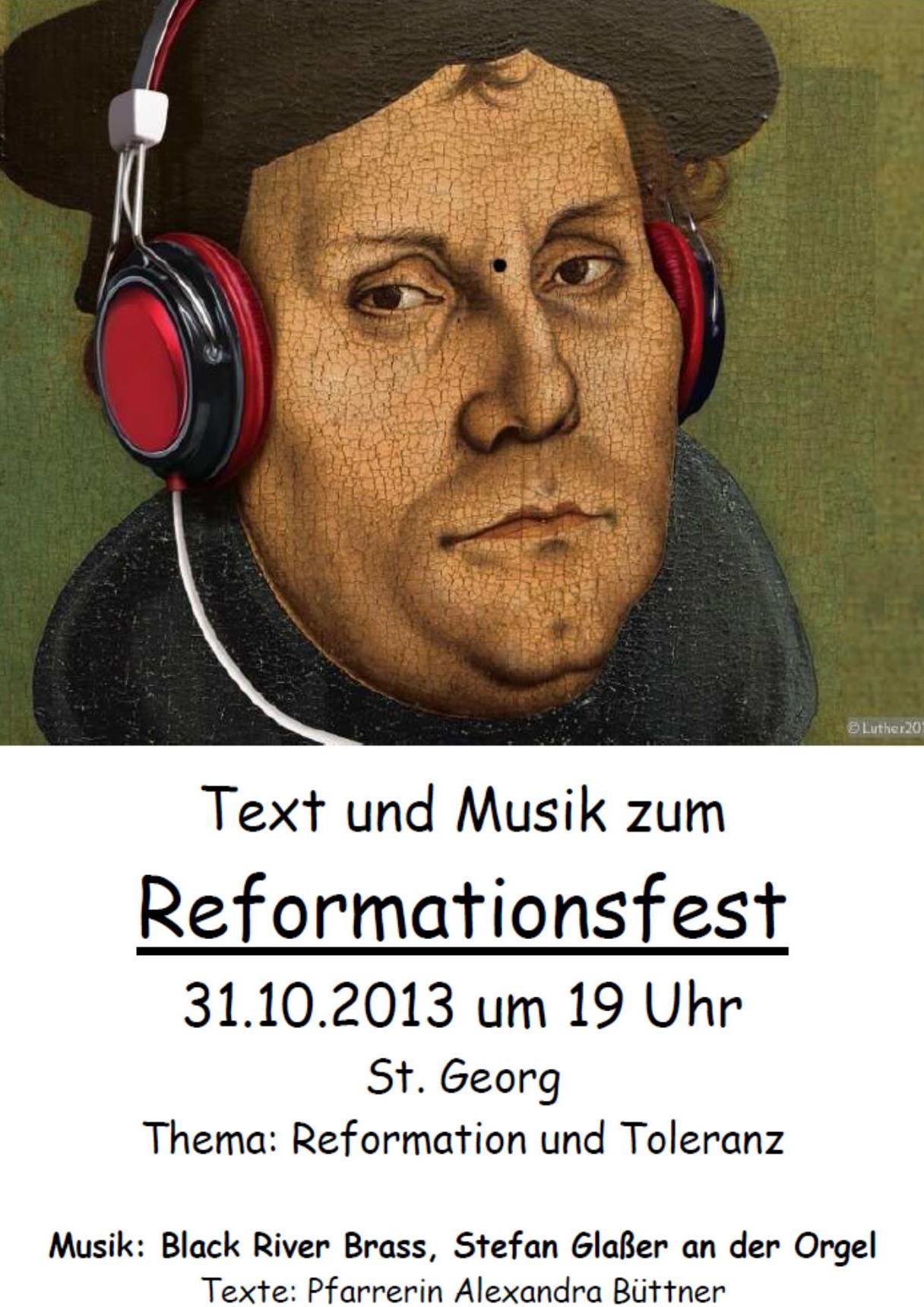 Plakat Reformationstag 20131031